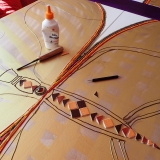 La papillon et la mosaïque