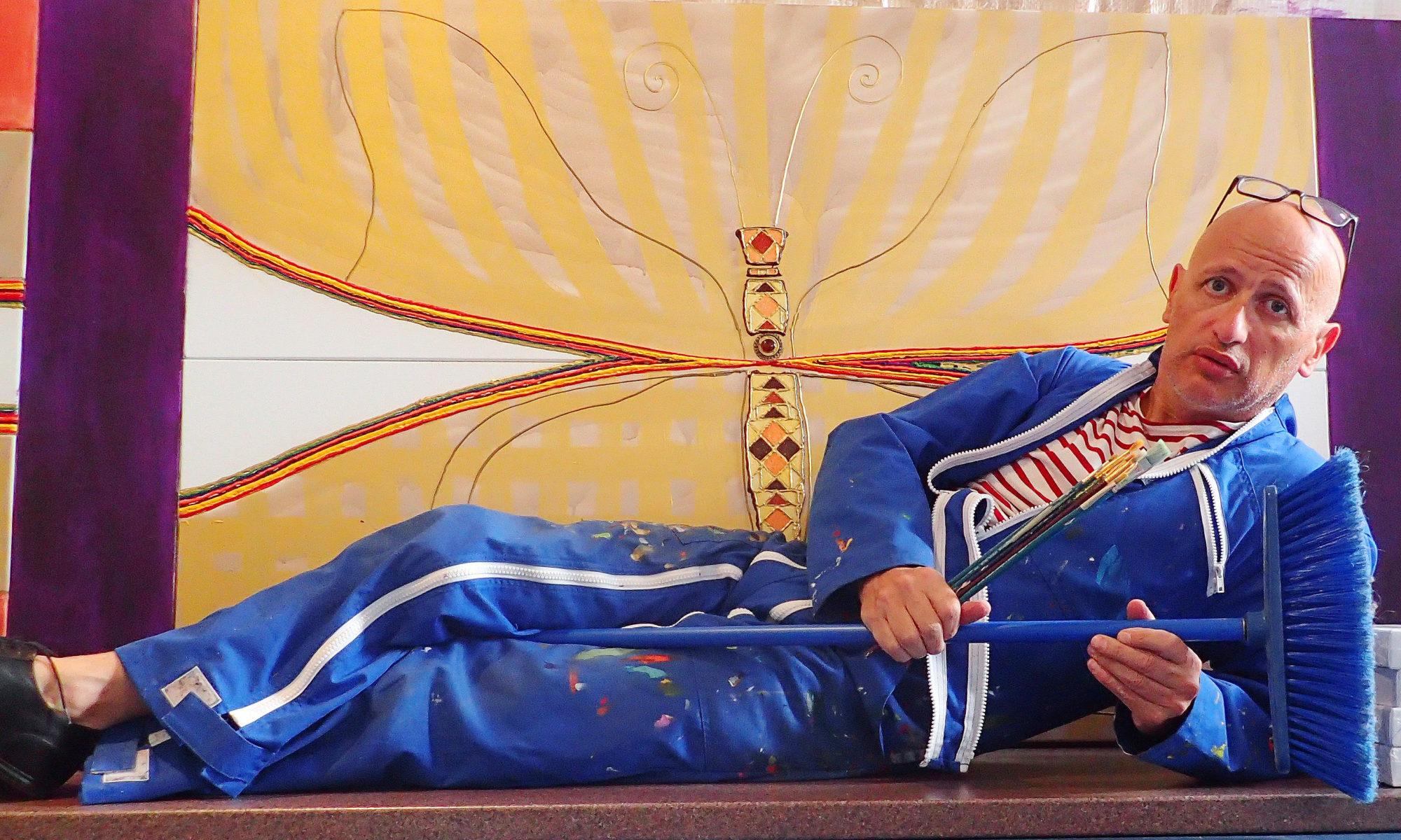 Emmanuel CASSANAS artiste peintre autodidacte atelier peinture mosaique art brut wood painting vegetal art polyptyque art contemporain Art thérapie décoration création Paris Ile de France galerie